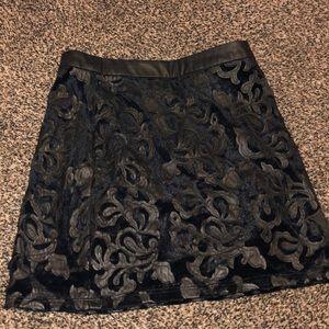 Black forever 21 skirt